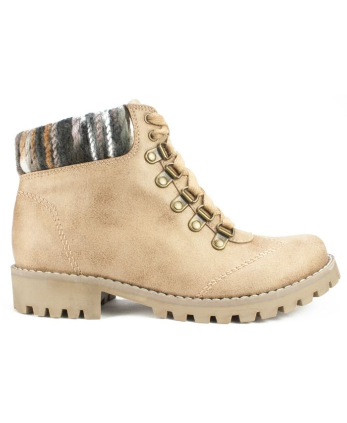 Cliffs by White Mountain Women's Portsmouth Lace-Up Boots & Reviews - Boots - Shoes - Macy's