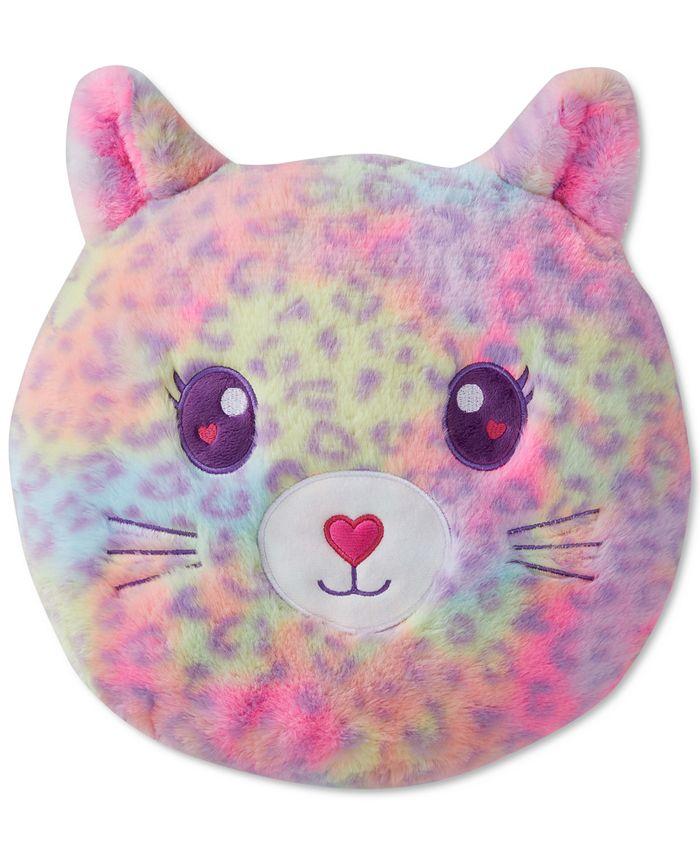 Olivia & Finn Round Furry Squishy Cat