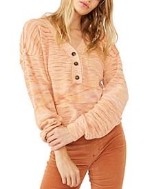 Mercury Space-Dye Cotton Sweater