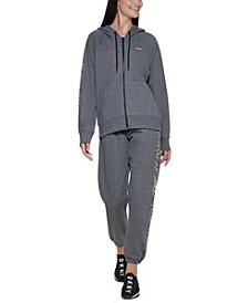 Sport Women's Zip-Front Hooded Sweatshirt