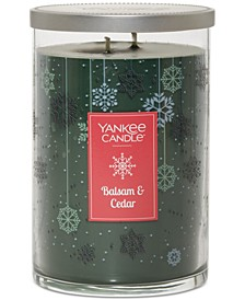 Large Two-Wick Balsam & Cedar Tumbler Candle