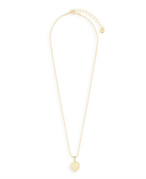 Camille 14k Gold Plated Pendant Necklace