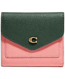 Wyn Small Colorblock Leather Wallet