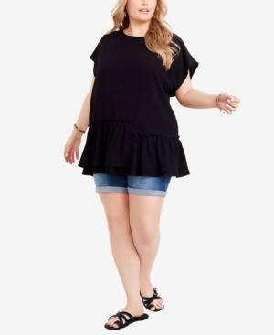 Plus Size Jenna Knit Tunic Top