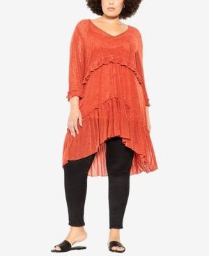 Plus Size Corinne Tunic Top