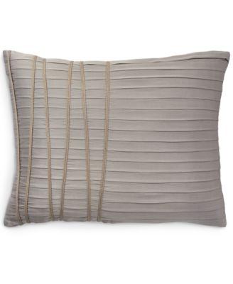 "Home Reflection Silver 16"" x 20"" Decorative Pillow"