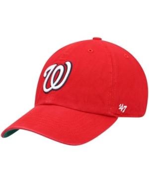 47 Brand Mens Washington Nationals Team Franchise Cap
