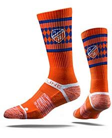 Men's Orange FC Cincinnati Premium Crew Socks