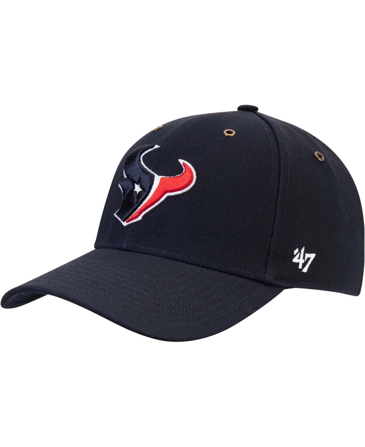 47 Brand Mens Carhartt Houston Texans Mvp Team Adjustable Cap