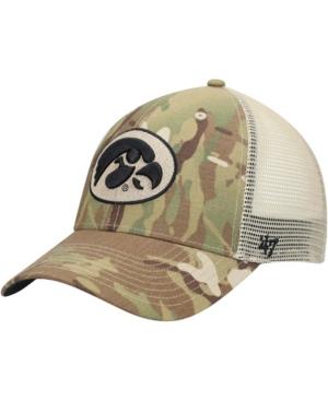 47 Mens Camo Iowa Hawkeyes Oht Military Appreciation Colonel Mvp Adjustable Snapback Hat