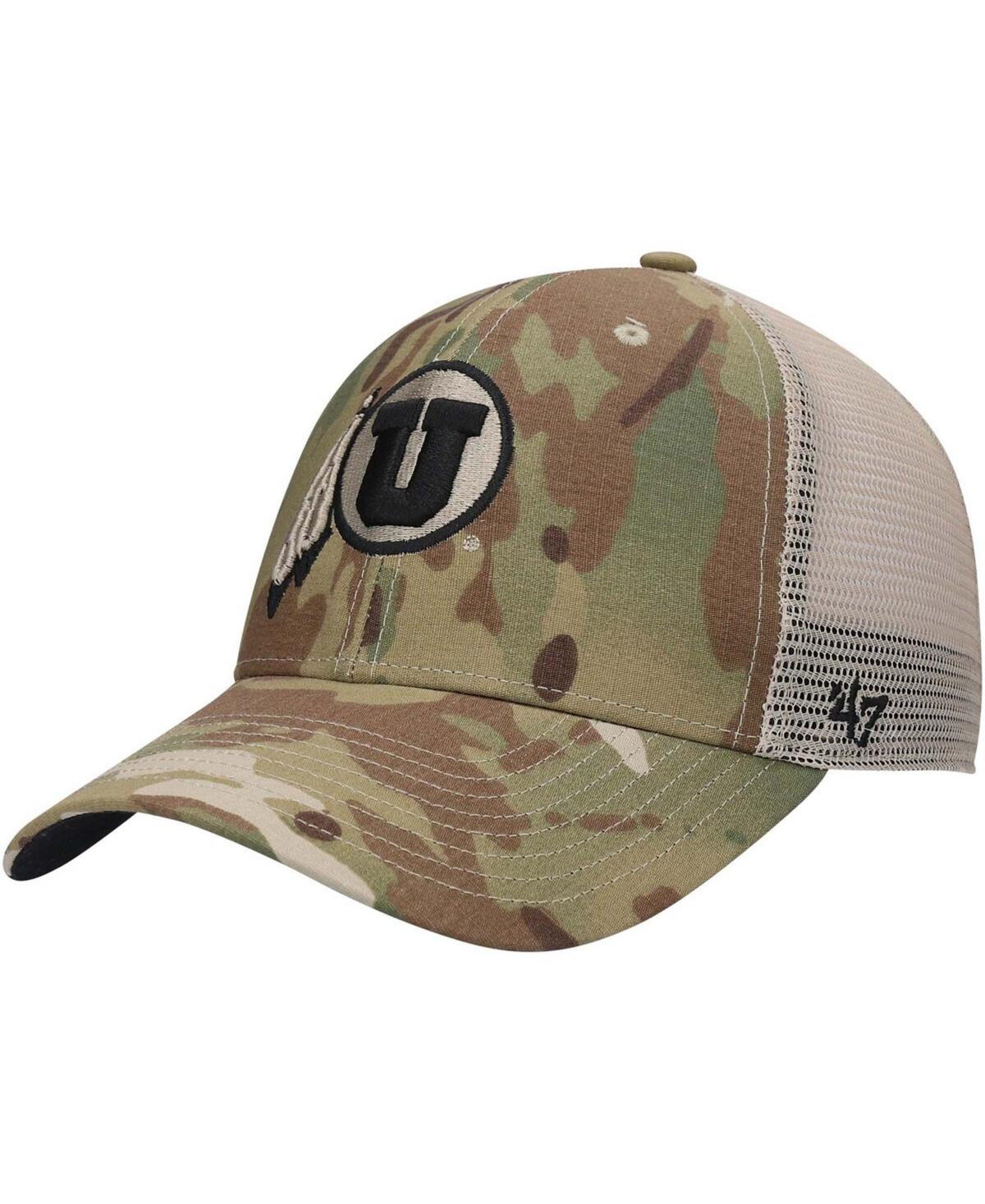 47 Brand Utah Utes Oht Appreciation Colonel Mvp Adjustable Snapback Cap