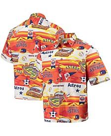 Men's Houston Astros Scenic Button-Up Shirt