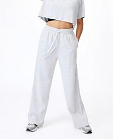 Women's Lifestyle Wide Leg Track Pants