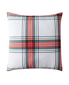 """Birch Trails Plaid Reversible Decorative Pillow, 24"""" x 24"""""""