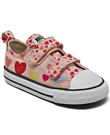 Toddler Girls Chuck Taylor All Star Hearts Easy-On Stay-Put Closure Casual Sneakers from Finish Line