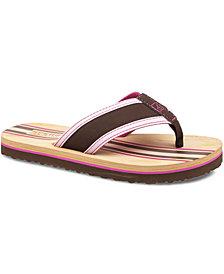 Sperry Girls' or Little Girls' Ashore Flip-Flops