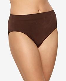 Women's Body Smooth Seamless High Leg Brief Panty