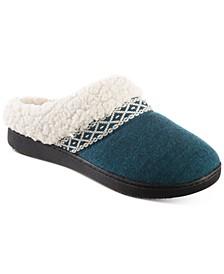 Women's Heather-Knit Ada Hoodback Boxed Slippers