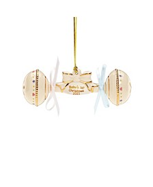 2021 Baby's First Christmas Rattle Ornament