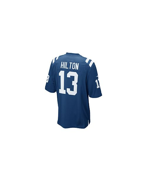 Men s TY Hilton Indianapolis Colts Game Jersey. 2 reviews.  100.00. Free  ship at  48 Free ship at  48 Details Details. main image  main image ... c13d21ffe