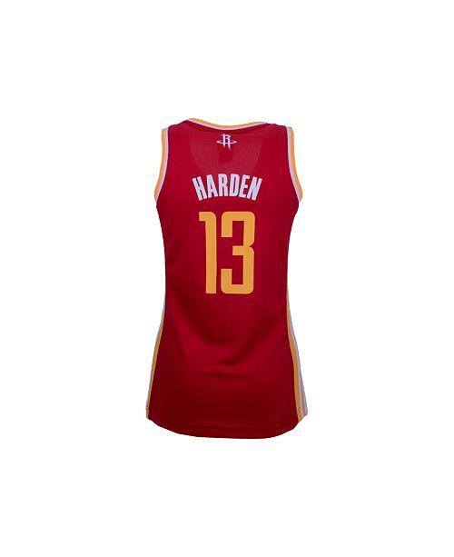 timeless design 8d127 5627d adidas Women's Houston Rockets James Harden Replica Jersey ...