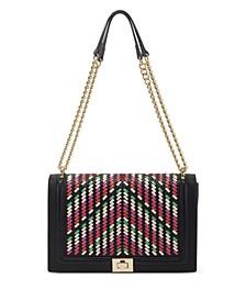 Ajae Reg Weave Crossbody, Created for Macy's