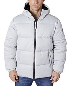 Men's Heavy Twill Puffer Jacket
