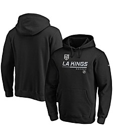 Men's Black Los Angeles Kings Authentic Pro Core Collection Prime Pullover Hoodie