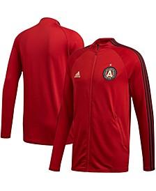 Men's Red Atlanta United FC 2020 On-Field Anthem Full-Zip Jacket