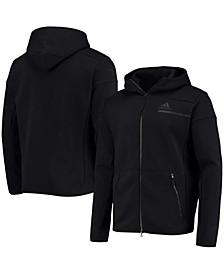 Men's Black Nashville Predators Color Block Full-Zip Jacket