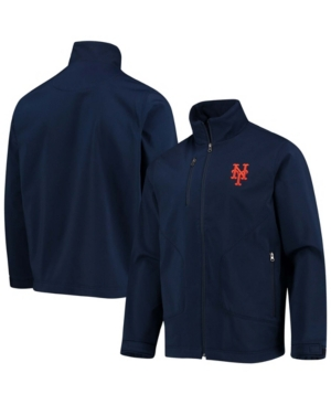 Men's Navy New York Mets Strong Side Full-Zip Jacket