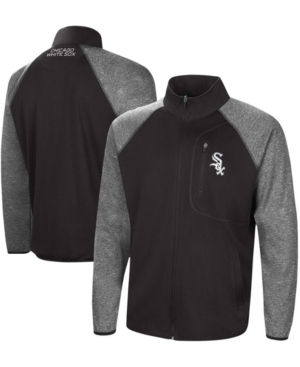 Men's Black Chicago White Sox Freestyle Transitional Raglan Full-Zip Jacket