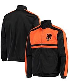 Men's Black San Francisco Giants Full-Zip Track Jacket