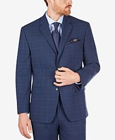 Men's Classic-Fit Check Suit Separate Jacket