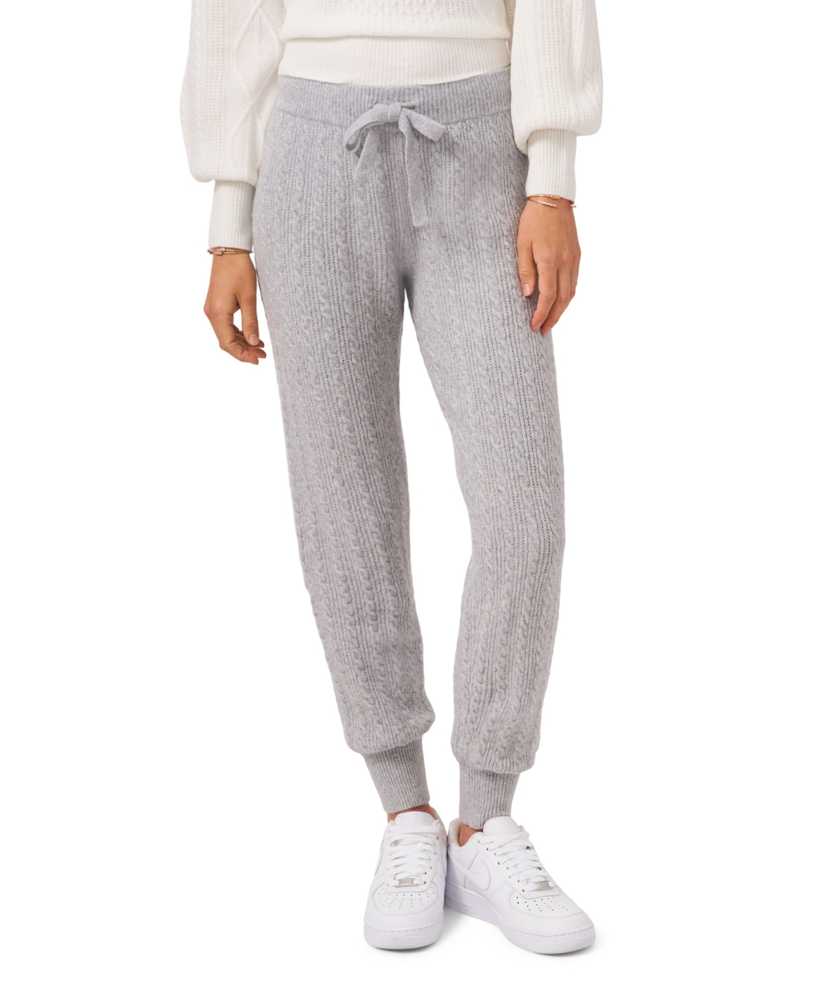 1.state Pull On Sweater Jogger