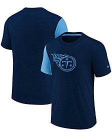 Youth Girls Navy Tennessee Titans Fashion Performance T-shirt