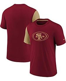 Youth Girls Scarlet San Francisco 49Ers Fashion T-shirt