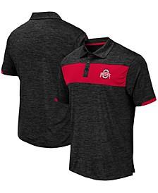 Men's Black Ohio State Buckeyes Nelson Polo Shirt
