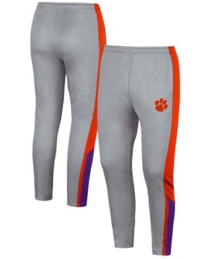 Men's Gray Clemson Tigers Up Top Pants