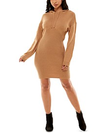 Juniors' Hoodie Mini Dress
