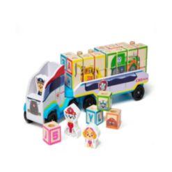Melissa and Doug Paw Patrol Abc Block Truck