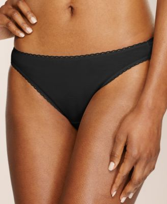 Image of Charter Club Pretty Cotton Bikini, Only at Macy's