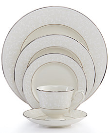 Lenox Pearl Innocence 5 Piece Place Setting