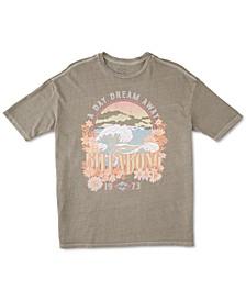 Juniors' Day Dream Away Cotton T-Shirt