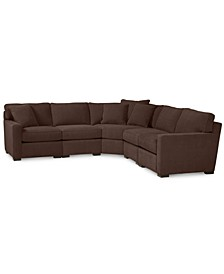 Radley Fabric 5-Piece Sectional Sofa, Created for Macy's