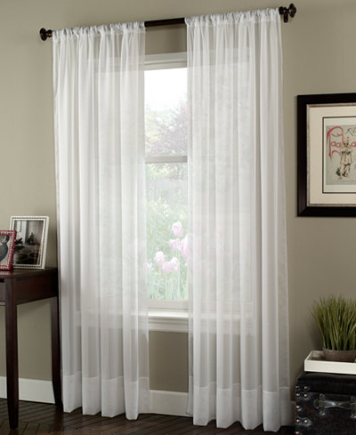 CHF Sheer Soho Voile Window Treatment Collection