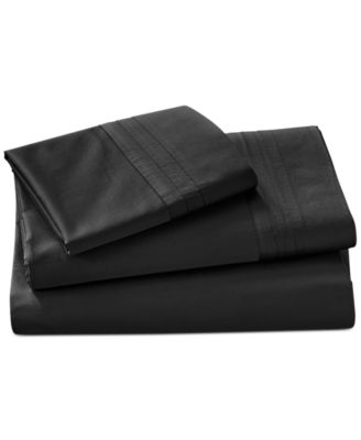 CLOSEOUT!  Home Ebony Queen Fitted Sheet