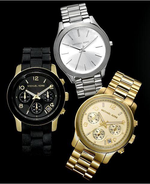 Michael Kors Customer Favorites Runway Watches