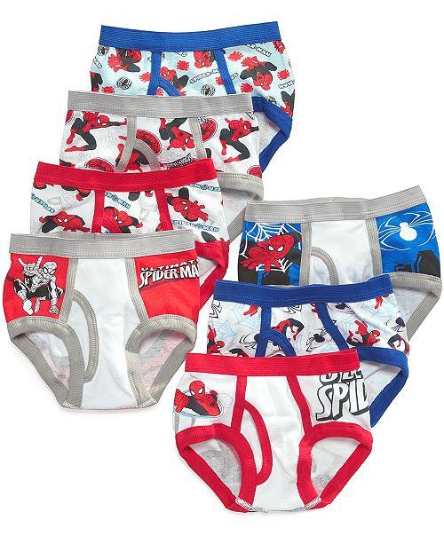 Spider-Man Marvel's® 7-Pk. Cotton Briefs, Toddler Boys