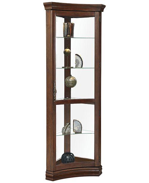 Furniture Codee Concave Corner Curio